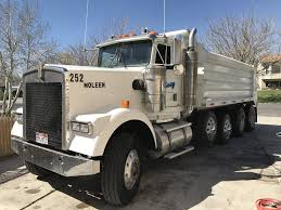 used kenworth dump trucks w900 5 axle dump truck dogface heavy equipment sales