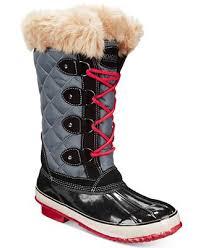 khombu womens boots sale khombu s melanie lace up faux fur boots boots shoes macy s