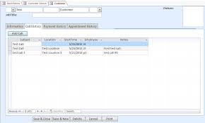 microsoft access teacher contact tracking database template