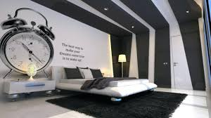 Deco Chambre Noir Blanc Chambre Noir Gris Deco Gris Deco Chambre Grise Chambre Noir Et