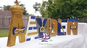 royal prince baby shower decorations royal prince baby shower letters by sophisticatedlife on etsy