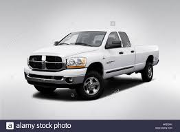 Dodge Ram White - 2006 dodge ram 3500 drw slt in white front angle view stock