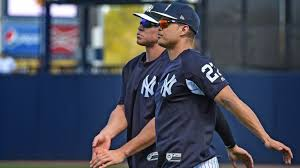 Aaron Judge Joins An Exclusive Club Of Yankees All Stars Pinstripe - all eyes are on yankees aaron judge and giancarlo stanton and it s