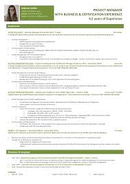 Supply Chain Project Manager Resume by Melanie Canal Project Manager Resume