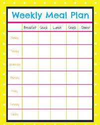 diet plan food calendar u2013 diet plan