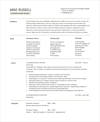 Resume Objective Examples For Customer Service by Customer Service Resume Objective Best 25 Resume Objective