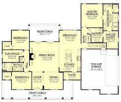 Farmhouse House Plans by One Story Farmhouse House Plans On Vintage Cabin Floor Ranch Plan
