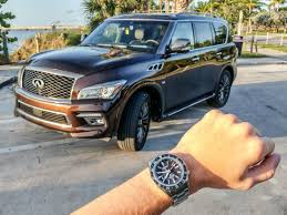 rose gold infiniti car seiko spring drive articles ablogtowatch