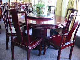 Oriental Dining Table by Solid Rosewood Furniture Round Dining Table Set Chinese Style