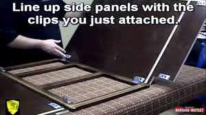 how to assemble faircrest base cabinets youtube how to assemble faircrest base cabinets bargain outlet