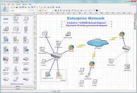 Microsoft Map 10 Strike Network Diagram Software For Creating Topology Diagrams