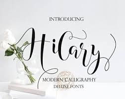 calligraphy font calligraphy font etsy