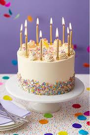 multicoloured funfetti cake