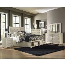 El Dorado Bedroom Furniture Diamond Ivory King Storage Bed El Dorado Furniture Bedroom Sets