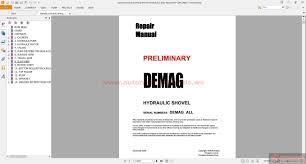 komatsu hydraulic mining shovels shop manual free auto repair