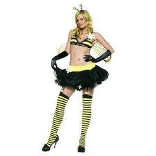 Honey Bee Halloween Costume Bee Costume Honey Bumble Bee Halloween Fancy Dress Ebay