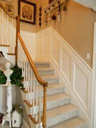 simple wainscoting stairs wainscoting stairs wood panels