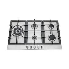 amazon com 30 in stainless steel gas cooktop with 5 sealed