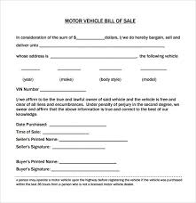 bill of sale template car sle vehicle bill of sale 13 free documents in pdf