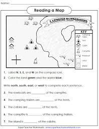 map worksheets free geography worksheets for kindergarten sixth