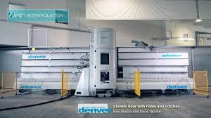 denver advance box doccia shower door processing youtube