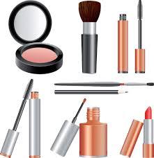 make up clip art variety of cosmetics clip art free vector