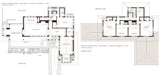 Hearst Tower Floor Plan by Frank Lloyd Wright U0027s Oak Park Illinois Designs The Prairie