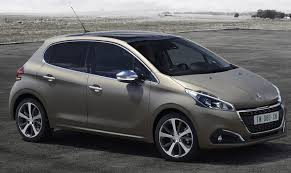 peugeot first car peugeot 208 facelift gets world u0027s first textured paint