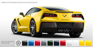 2014 chevrolet corvette stingray price 2014 chevrolet corvette stingray color configurator goes