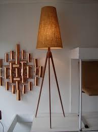 Midcentury Modern Floor Lamp - mid century modern wood floor lamp modern floor lamps