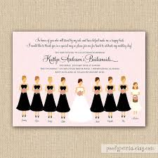 bridesmaids invitations bridal brunch invitations best 25 bridal luncheon invitations