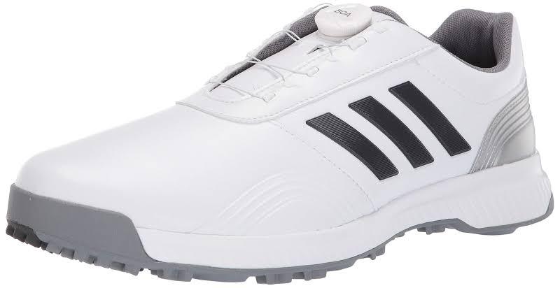 Adidas CP Traxion BOA Golf Shoes White/Grey/Silver,