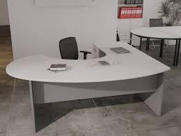 bureau de direction avec retour bureau avec retour pas cher meuble de bureau professionnel eyebuy