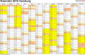 Kalender 2018 Hamburg Feiertage Kalender 2015 Hamburg Ferien Feiertage Excel Vorlagen