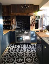 blue kitchen walls with brown cabinets 25 creative and chic blue and brown kitchens digsdigs