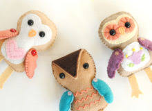 felt sewing patterns make your own stuffed animals dolls