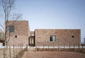 modern brick house modern brick home design in china brings an innovative twist to