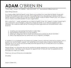cover letter sample for rn