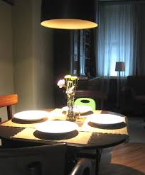height of lamp over dining room table home design health