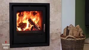 wood burning multi fuel stove arada aarrow i500 i series