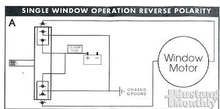 mump 1107 20 electric power windows single window wiring