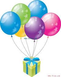 balloon gift balloon gift vector free vector in adobe illustrator ai ai
