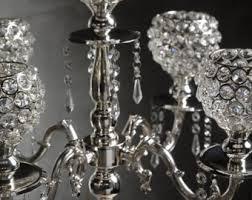 Crystal Chandelier Centerpiece Crystal Candelabra Etsy