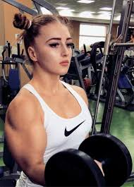 Olympic Record Bench Press The Ripped Russian Weightlifter Who Looks Like A Doll But Can