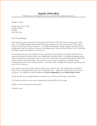 restaurant cover letter sample large size of resumeinterview