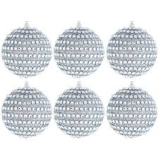 glitter ornaments ornaments 150mm shatterproof glitter