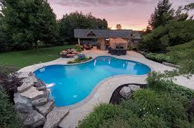 Stamped Concrete Backyard Ideas Outdoor Design Trend 23 Fabulous Concrete Pool Deck Ideas