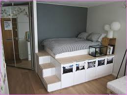 high platform beds with storage awesome 41257 algiani full size