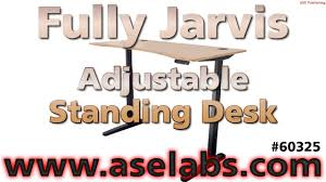 jarvis standing desk review fully jarvis adjuststable standing desk review ase labs youtube