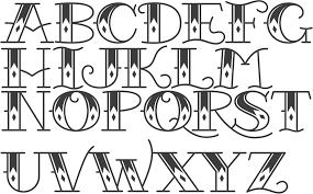 download tribal tattoo lettering fonts danielhuscroft com